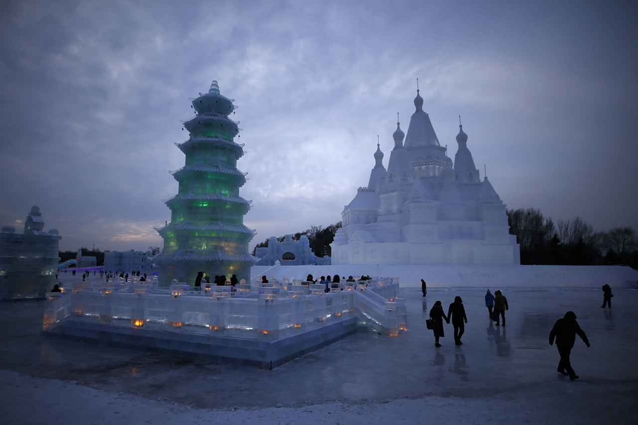 The 2016 Harbin Ice and Snow Festival 20