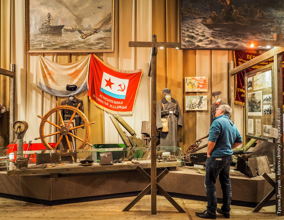 The Museum of the siege of Leningrad 40