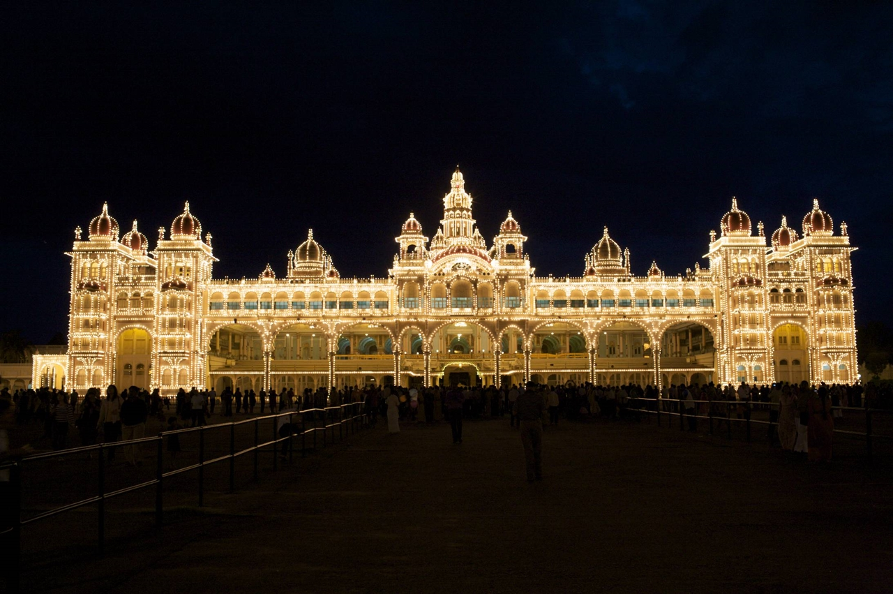 The Mysore Palace of India 04