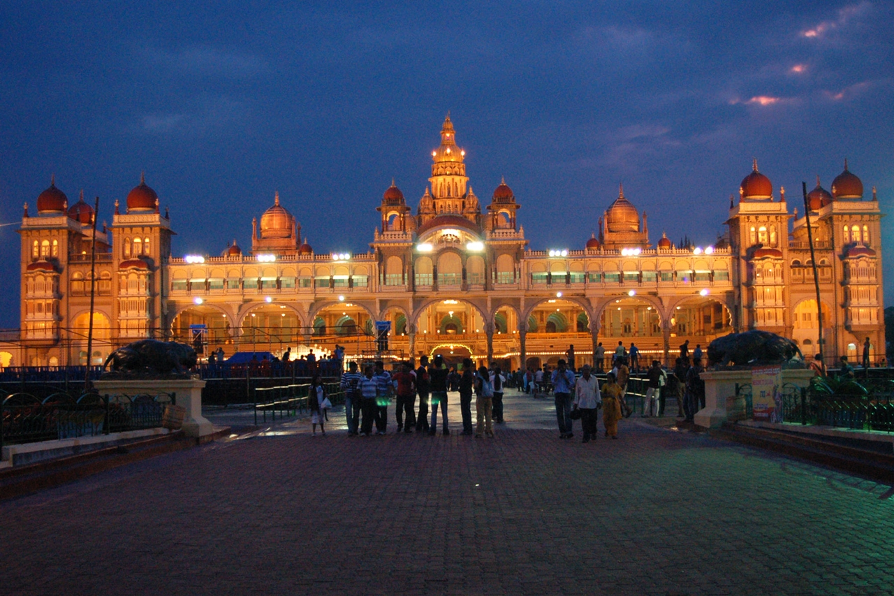 The Mysore Palace of India 05