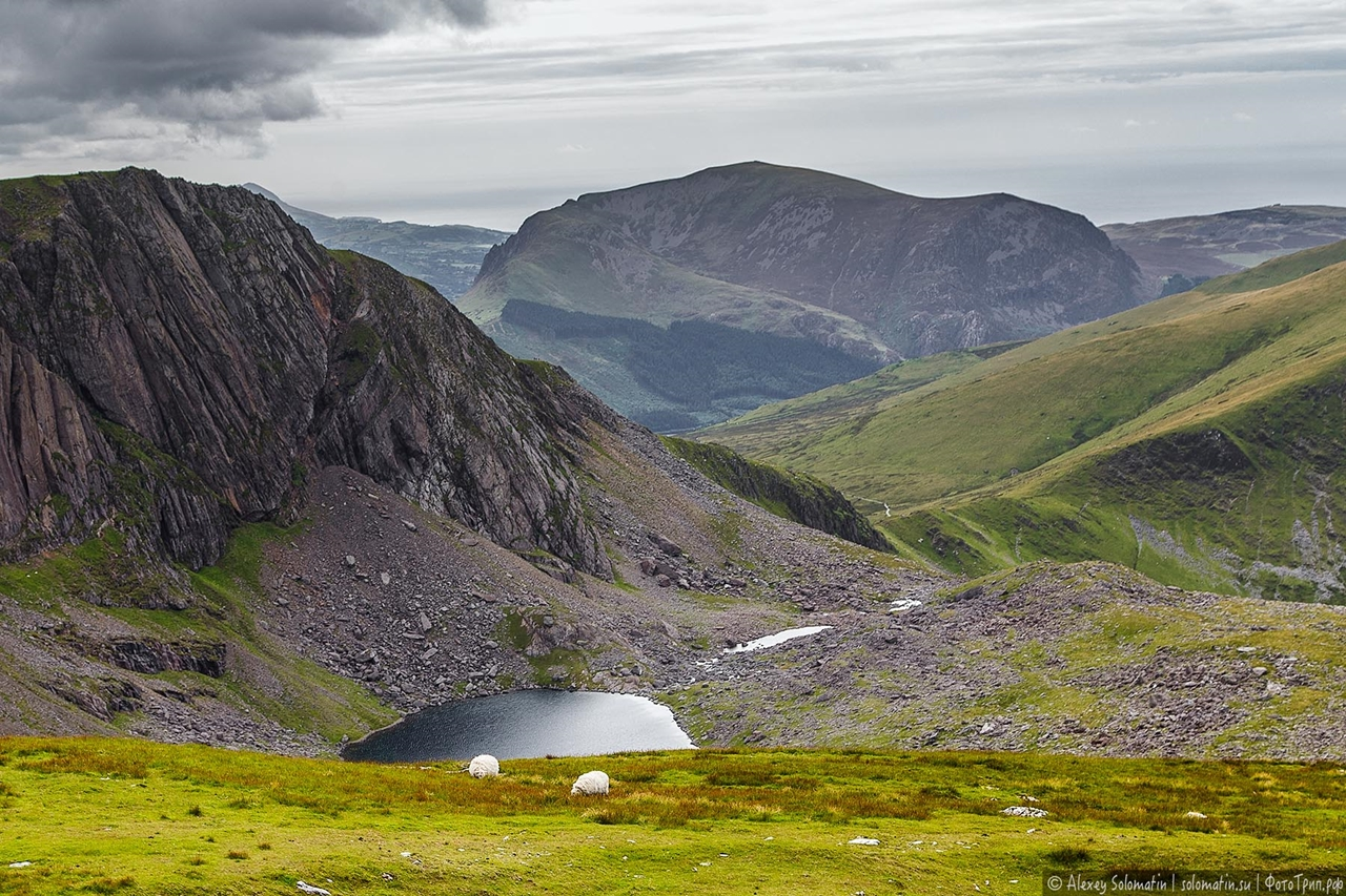 The Snowdonia. Ascent of the highest mountain South of the UK 35