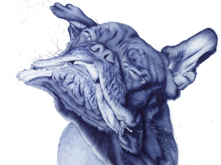The amazing ballpoint pen drawings 07
