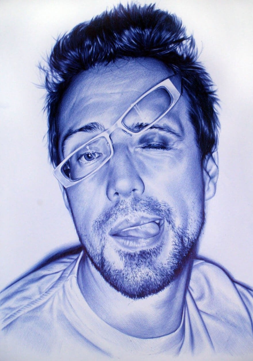 The amazing ballpoint pen drawings 08