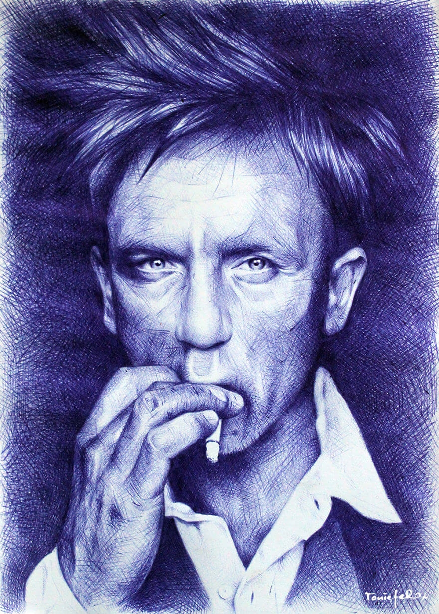 The amazing ballpoint pen drawings 16