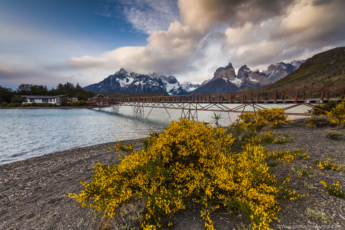 The energy of nature. Torres del Paine 03