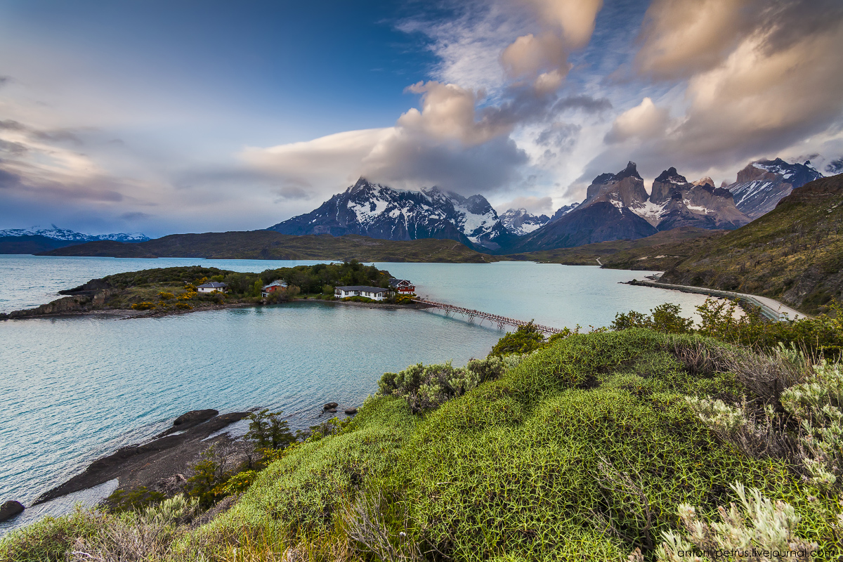 The energy of nature. Torres del Paine 05