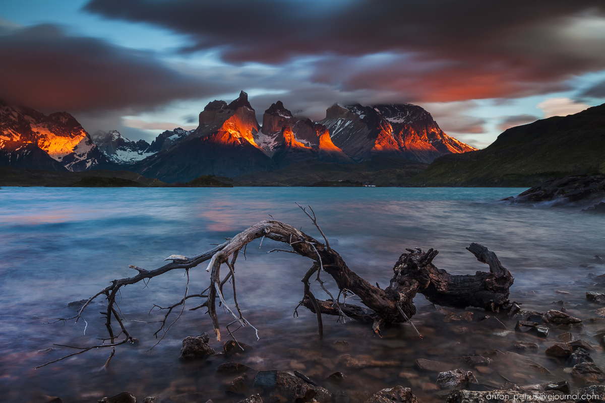The energy of nature. Torres del Paine 09