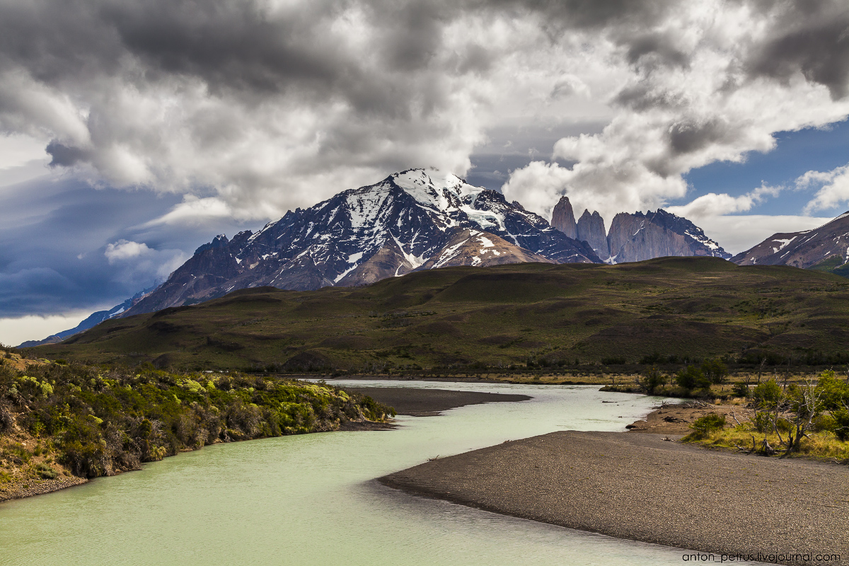 The energy of nature. Torres del Paine 14