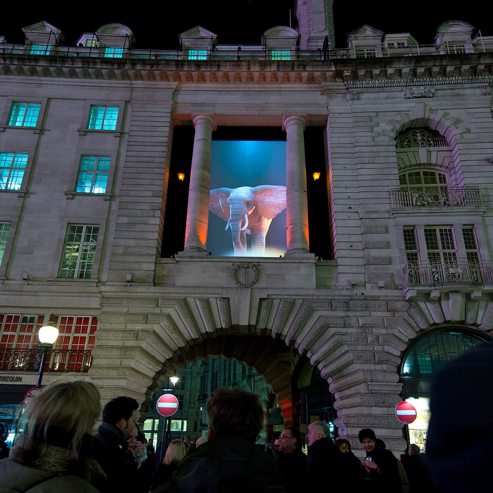 The festival of light in London 09
