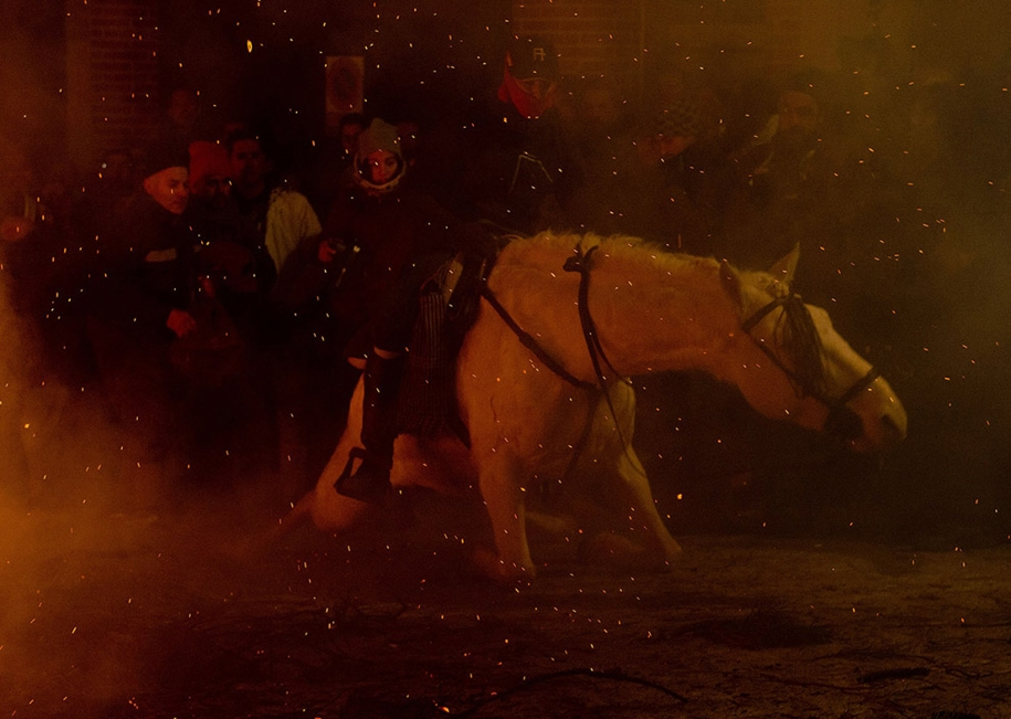 The fire horse and Day of St. Antonio 2016_07
