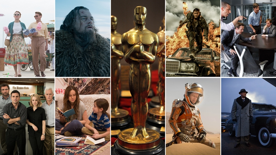 The nominees for the Oscar-2016_01