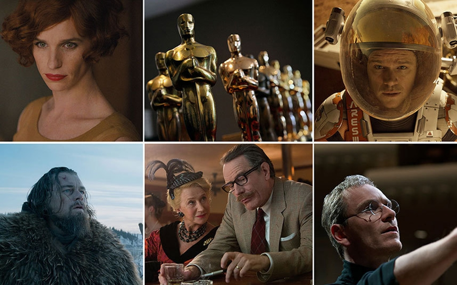 The nominees for the Oscar-2016_02