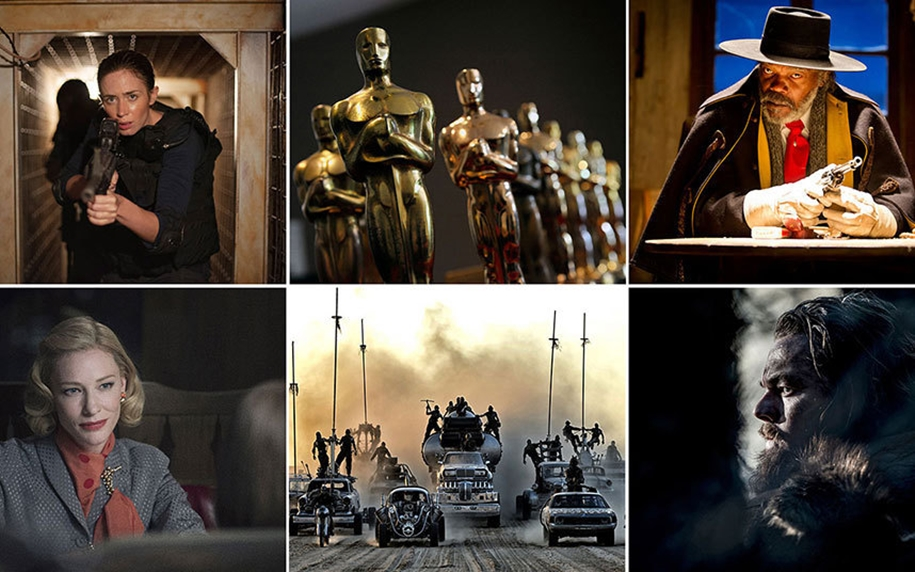 The nominees for the Oscar-2016_09