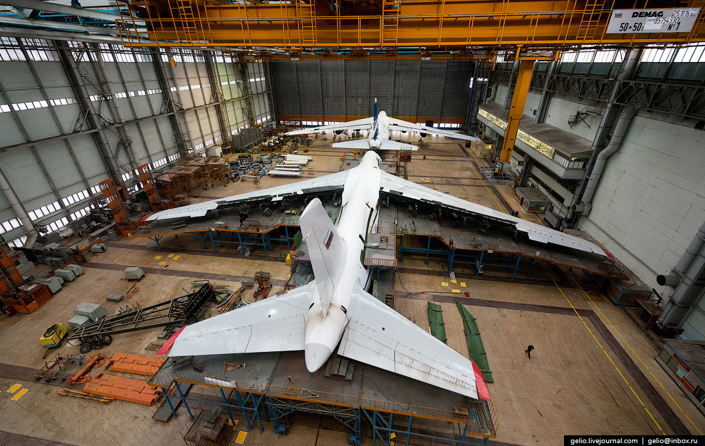 The production of Il-76 and Tu-204 at the plant Aviastar-SP 31
