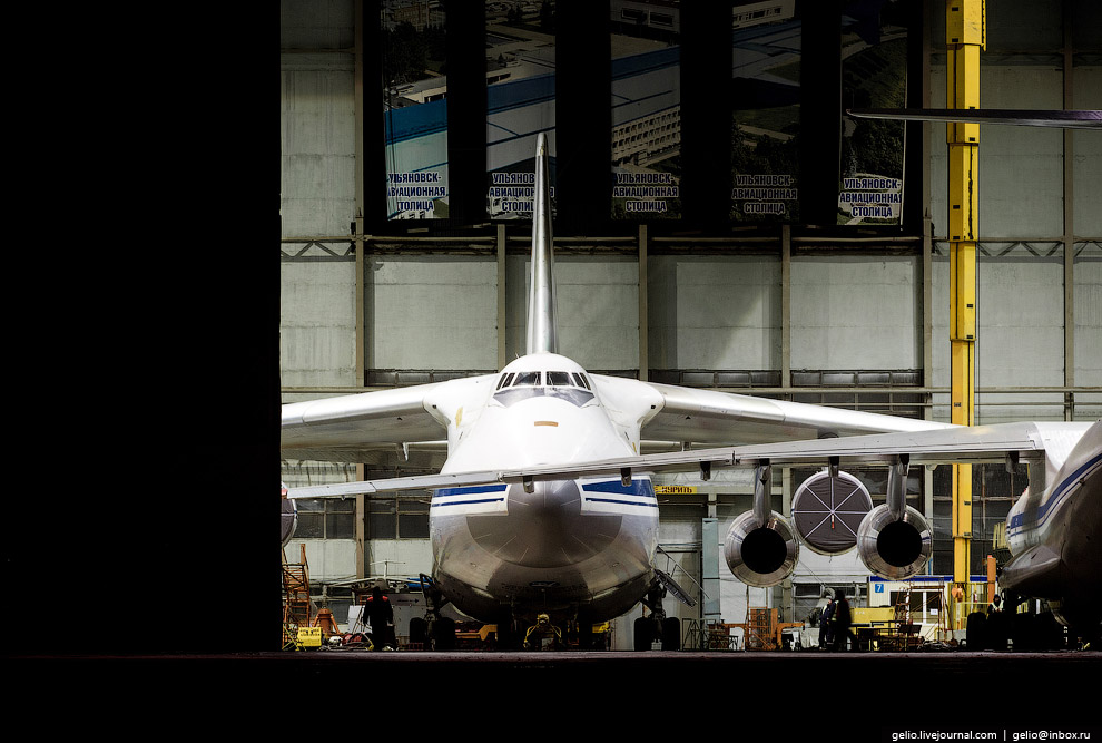 The production of Il-76 and Tu-204 at the plant Aviastar-SP 47