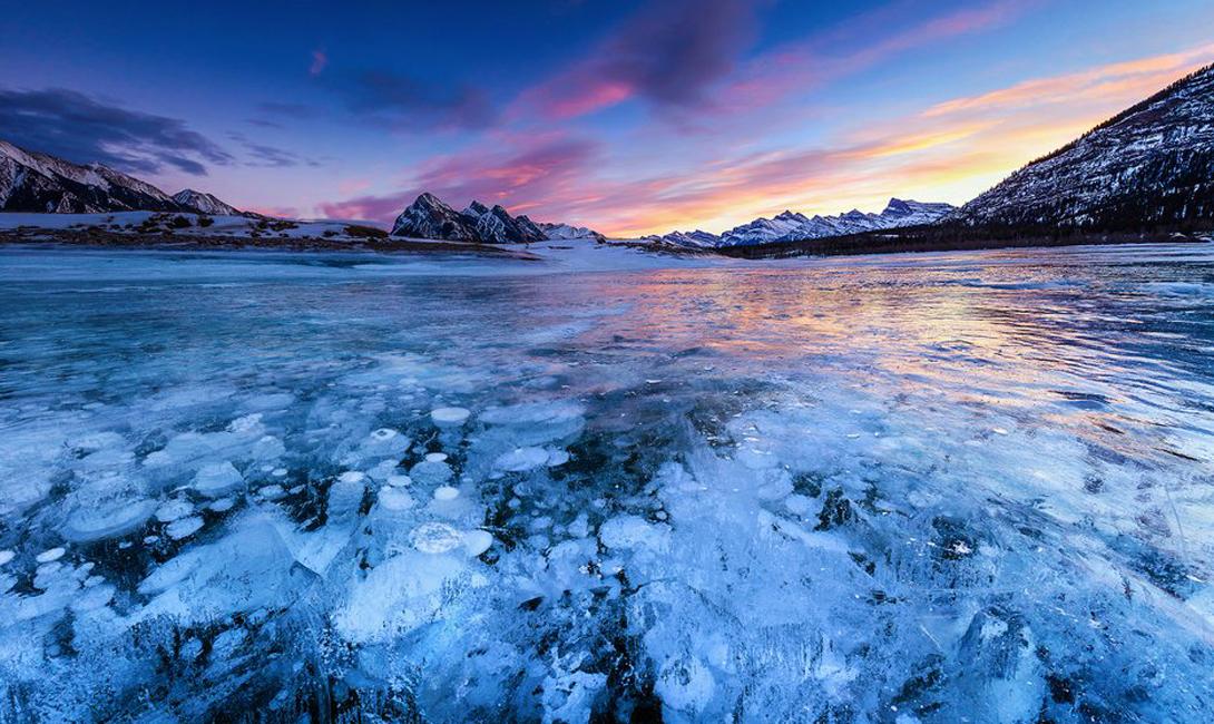 Подборка красивейших замерших озер нашей планеты