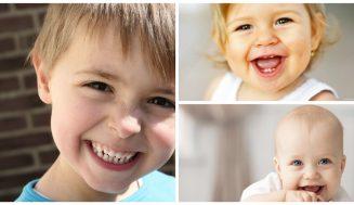 Улыбки детей