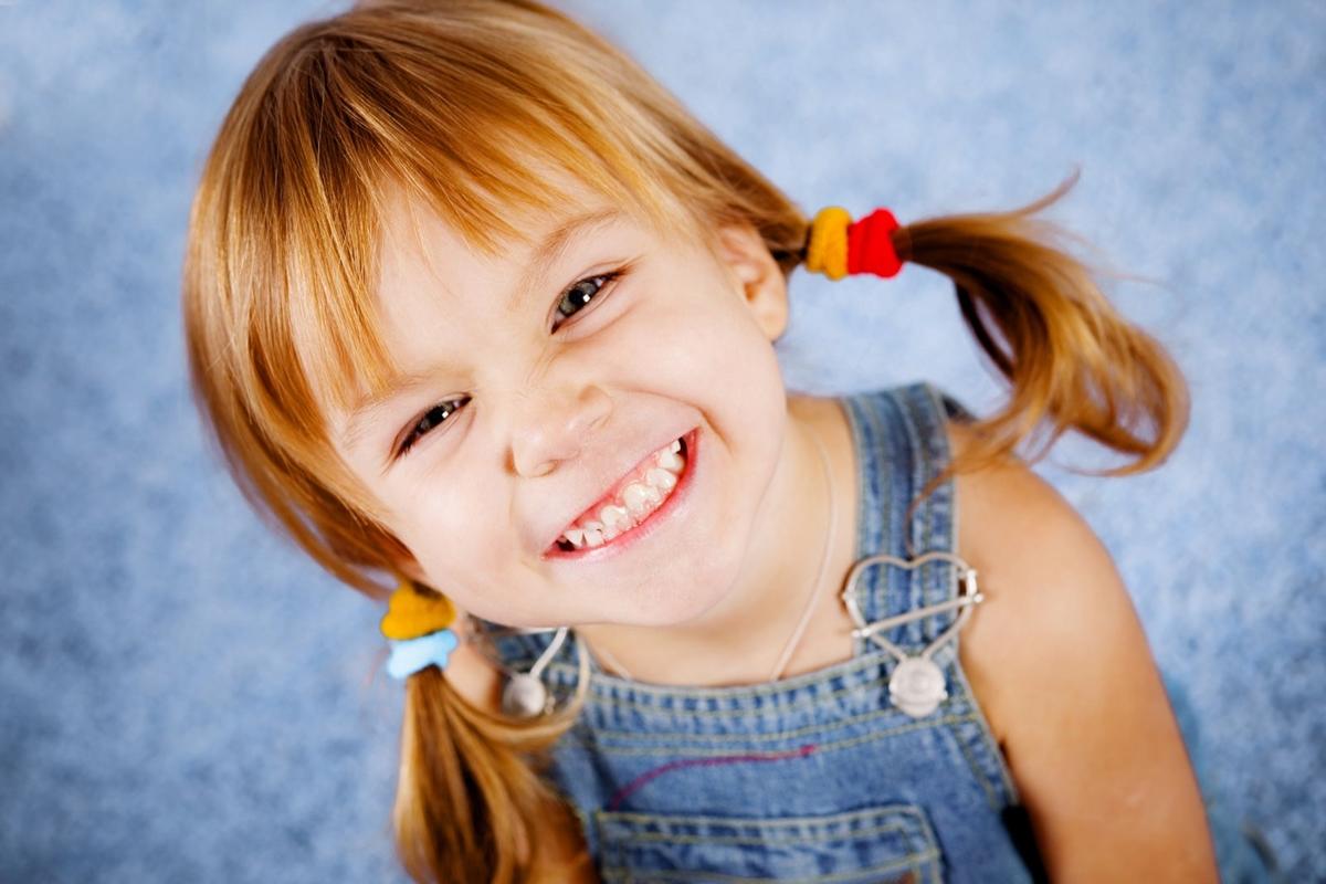 The smiles of children 01