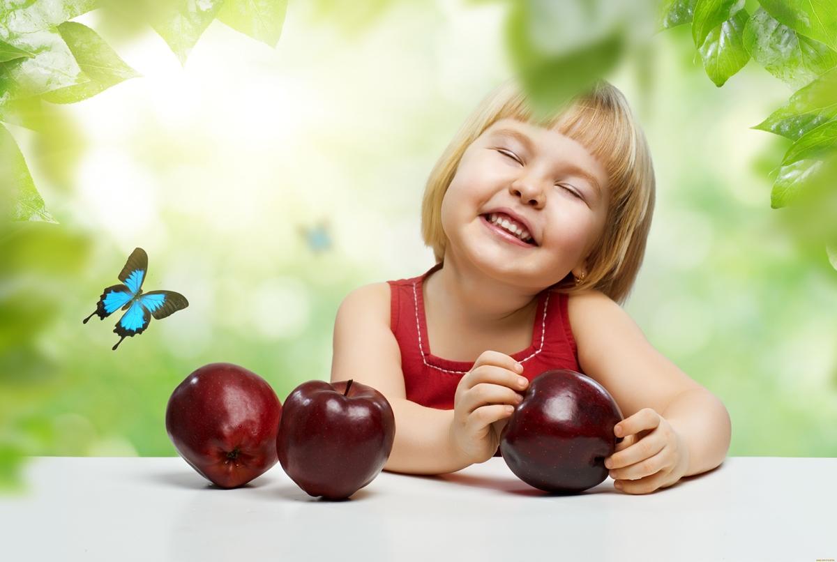 The smiles of children 17