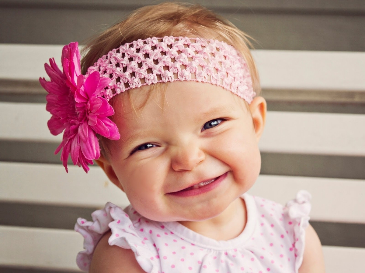 The smiles of children 19