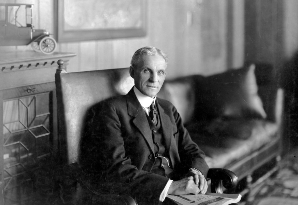 The unexpected decision of the genius and motivation of business Henry Ford 01
