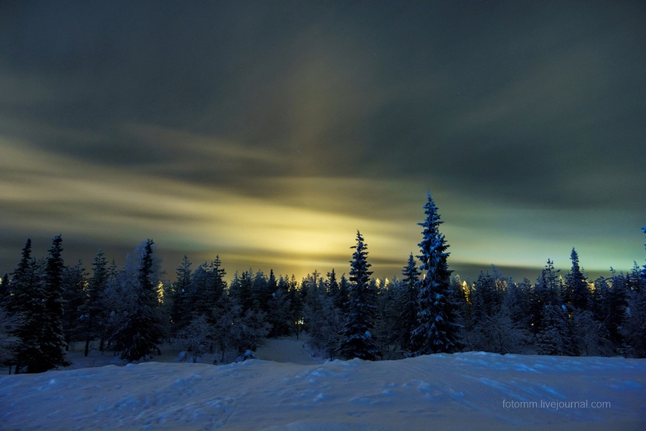 What can be seen in the skies over Lapland 06