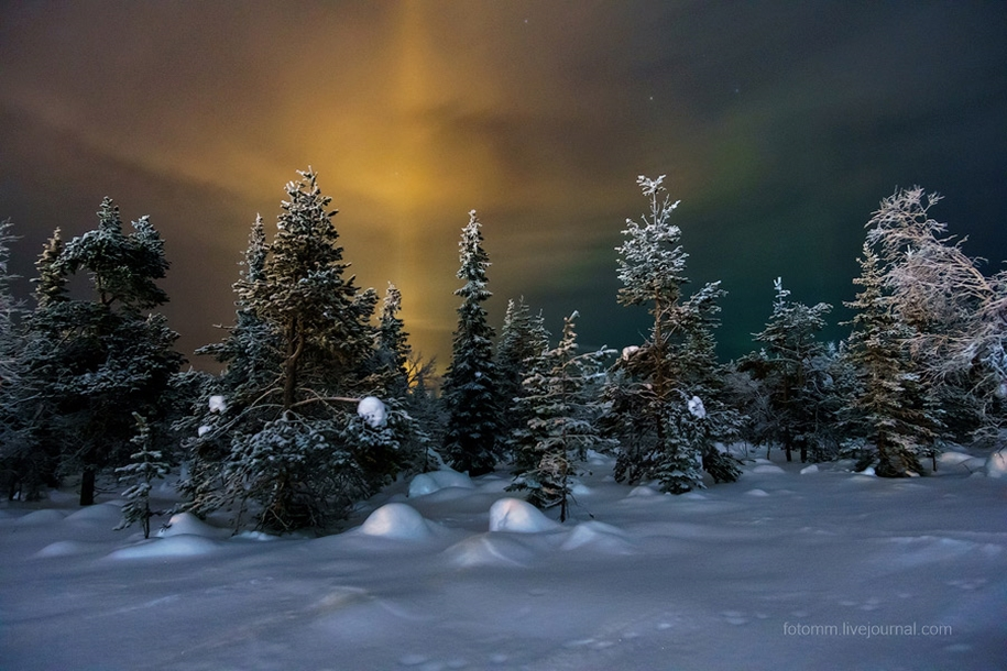 What can be seen in the skies over Lapland 14