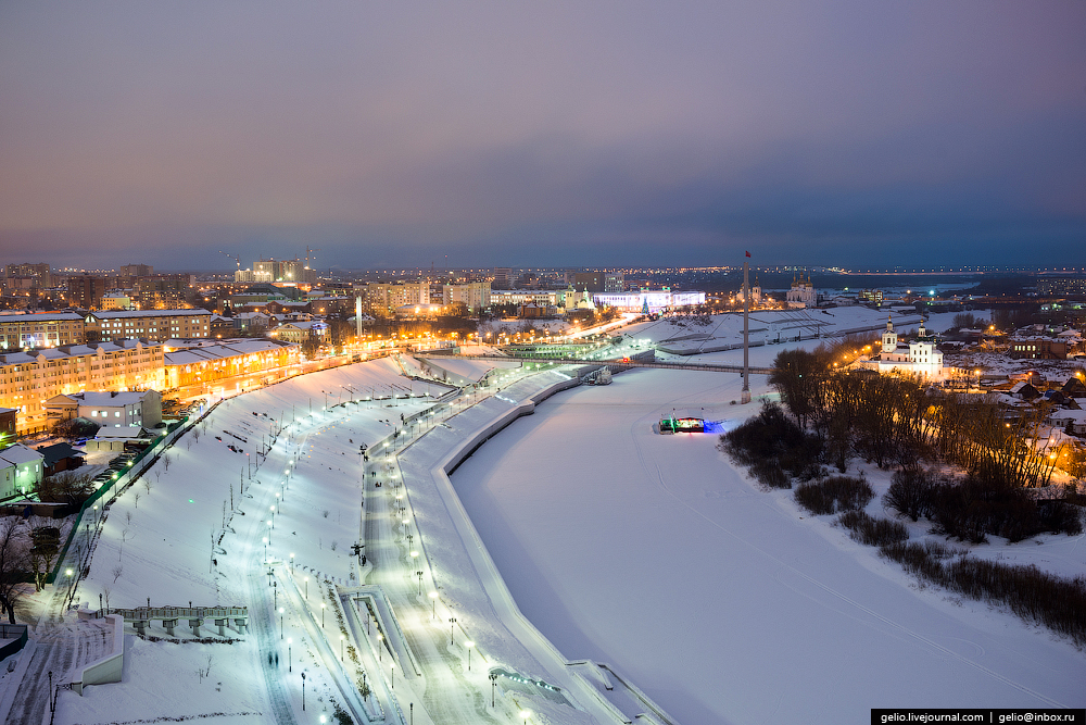 Winter Tyumen with height 01