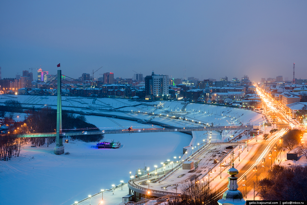 Winter Tyumen with height 02