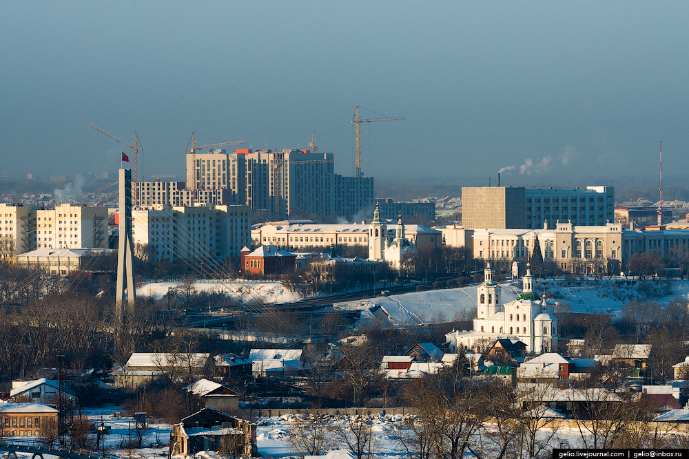 Winter Tyumen with height 03