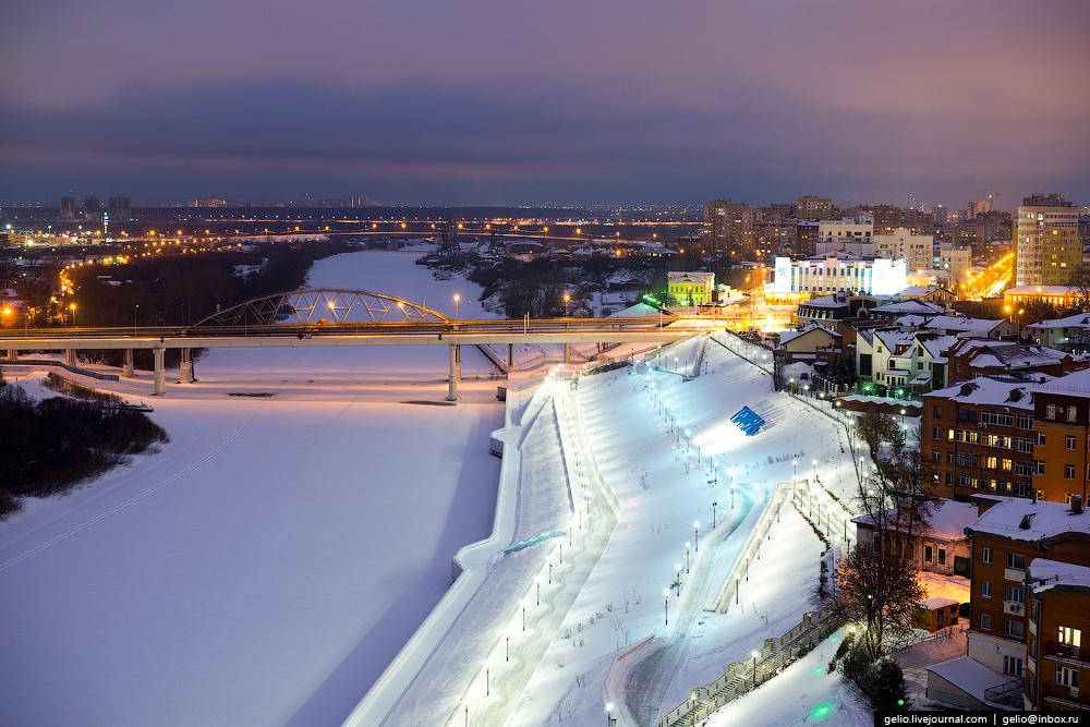 Winter Tyumen with height 06