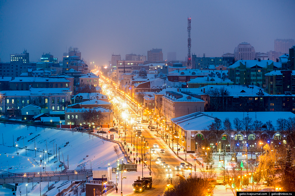 Winter Tyumen with height 08