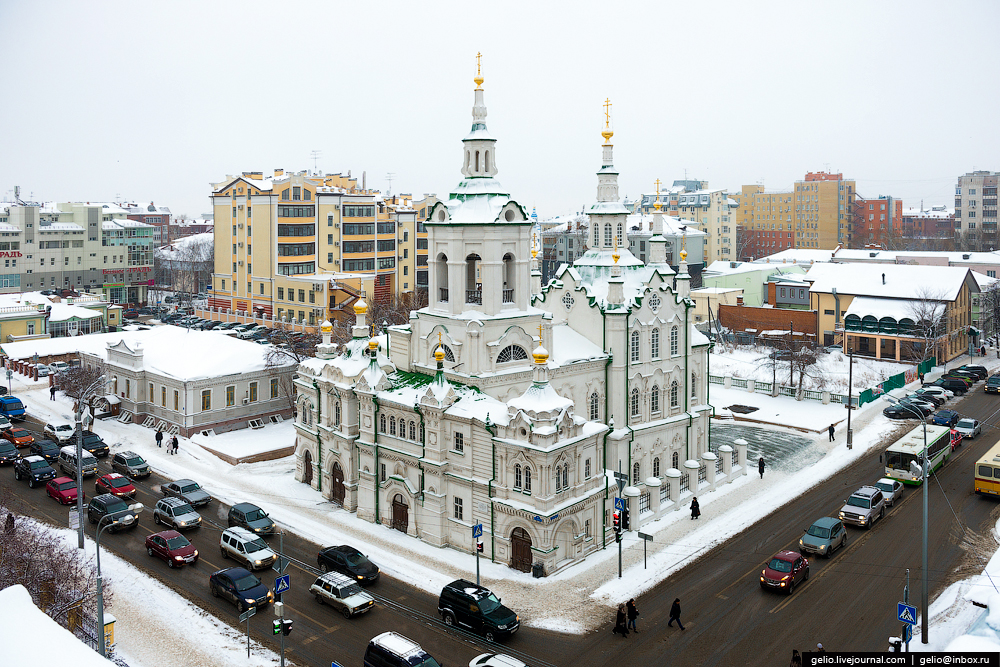 Winter Tyumen with height 09