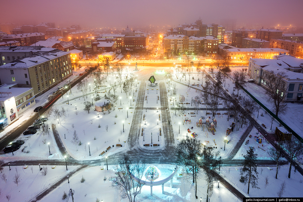 Winter Tyumen with height 10