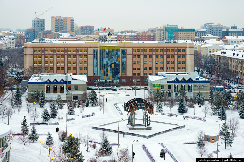 Winter Tyumen with height 12