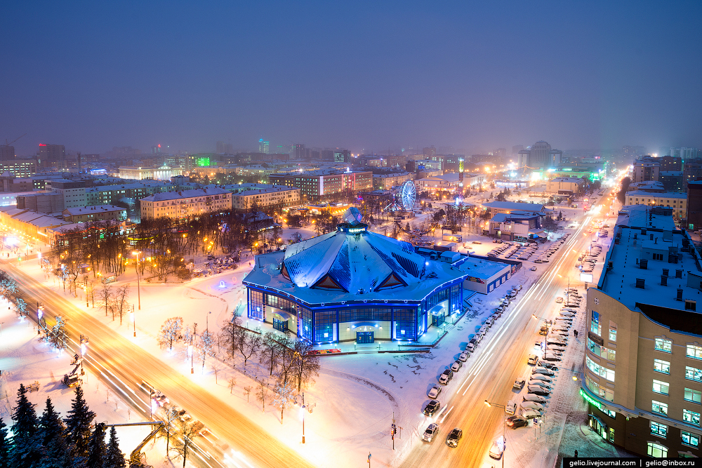 Winter Tyumen with height 13
