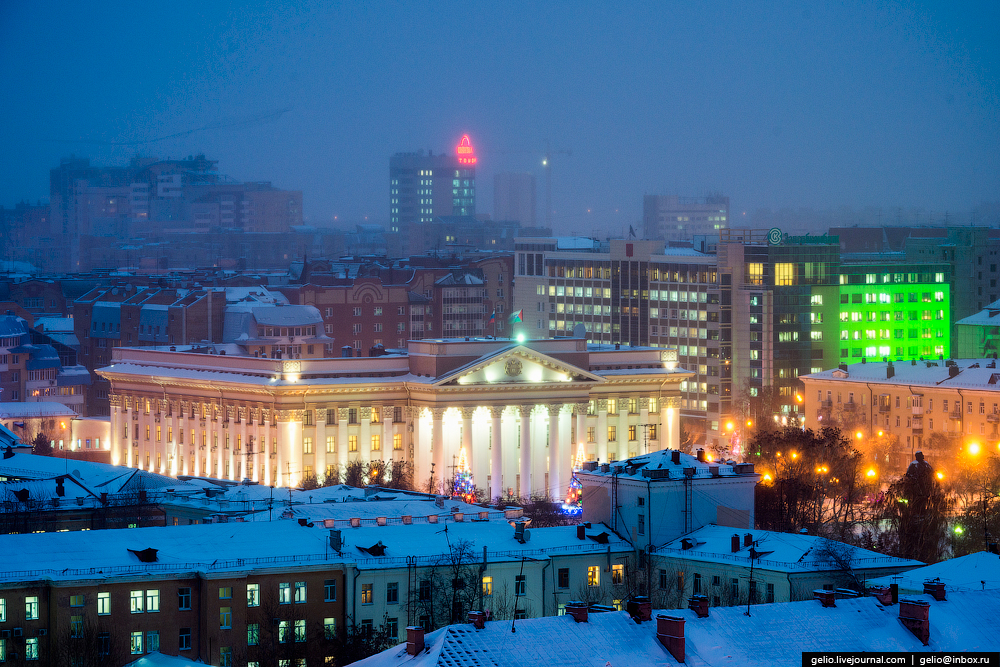 Winter Tyumen with height 15
