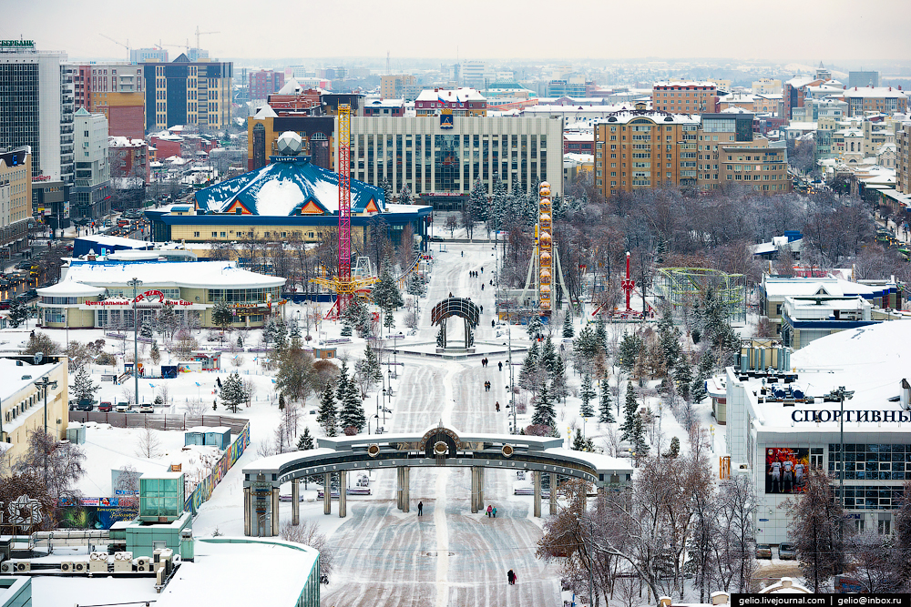 Winter Tyumen with height 17