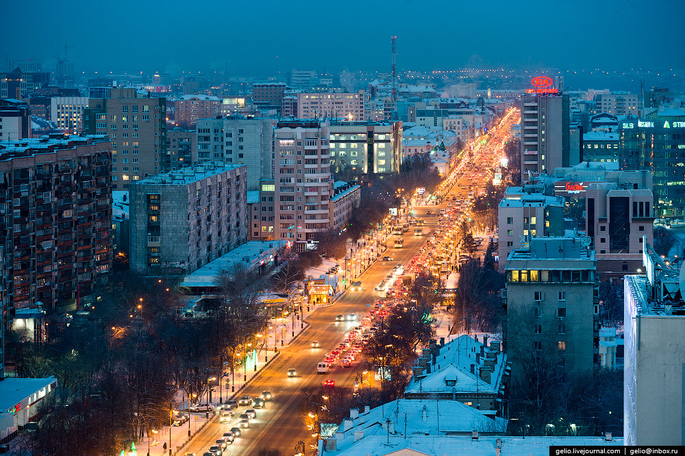 Winter Tyumen with height 20