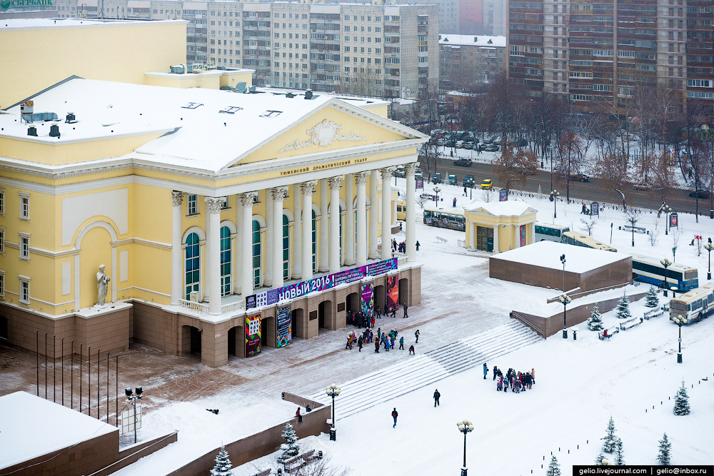 Winter Tyumen with height 21