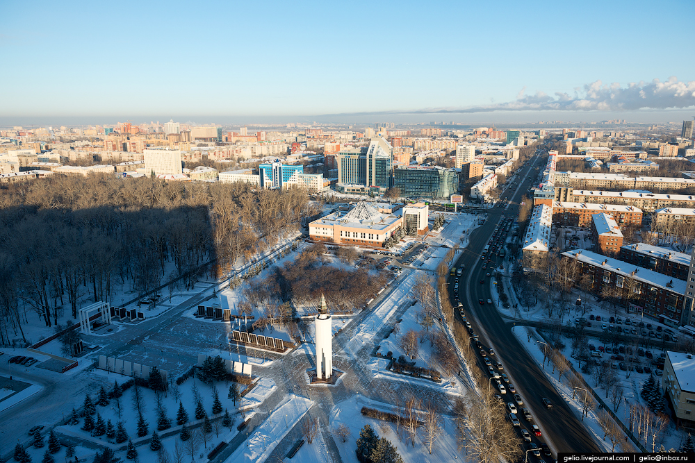 Winter Tyumen with height 23