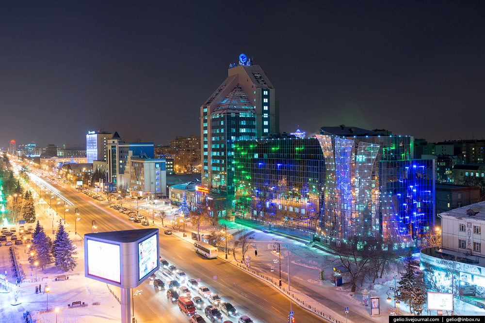 Winter Tyumen with height 24