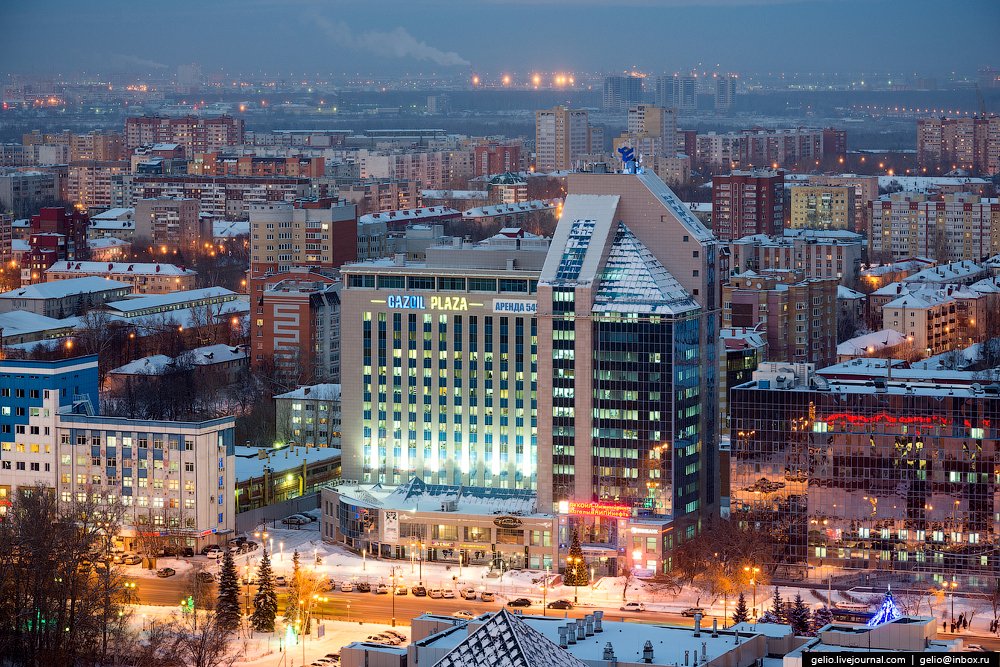 Winter Tyumen with height 25