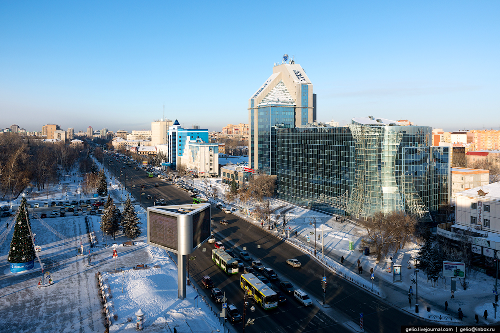 Winter Tyumen with height 35