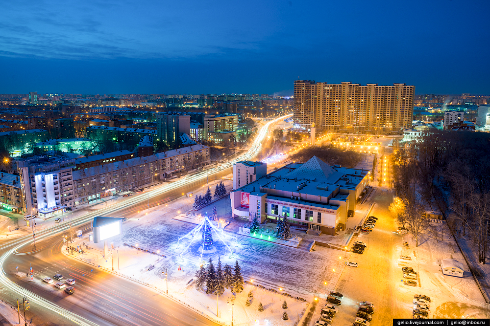 Winter Tyumen with height 36
