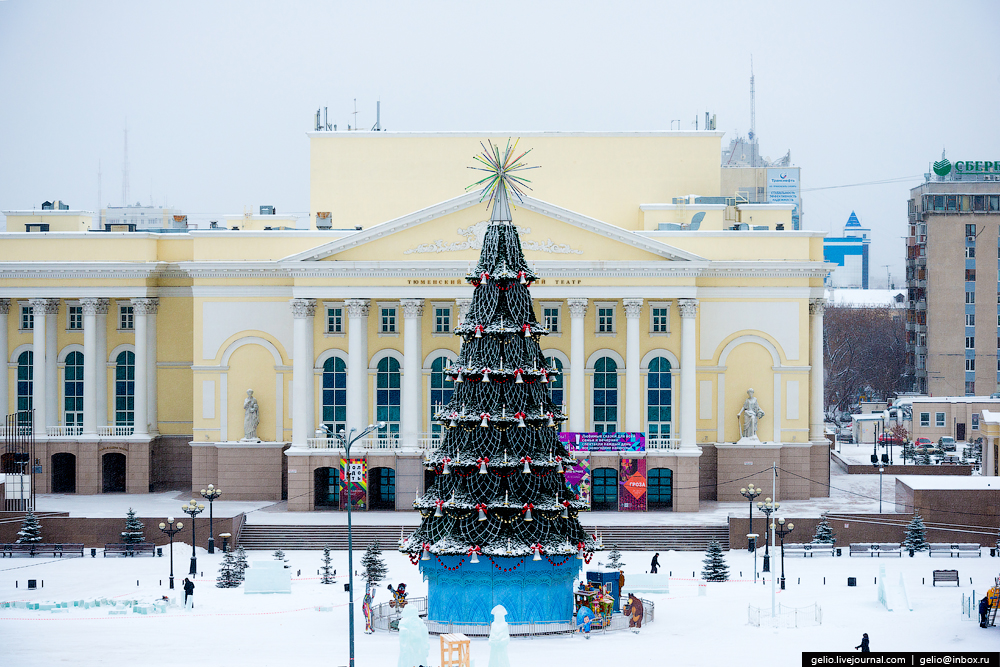 Winter Tyumen with height 39