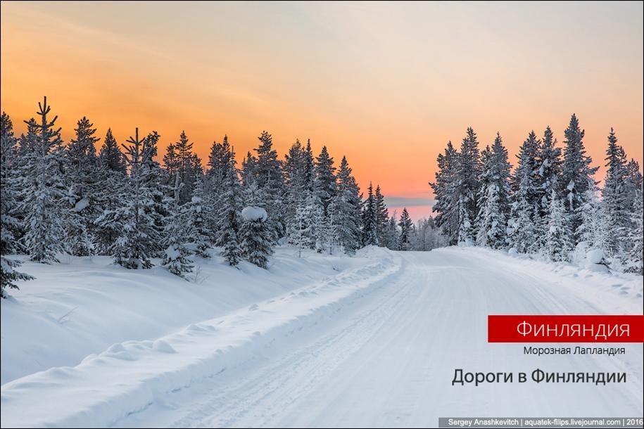 Winter roads in Finland 01