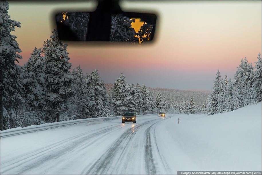 Winter roads in Finland 02