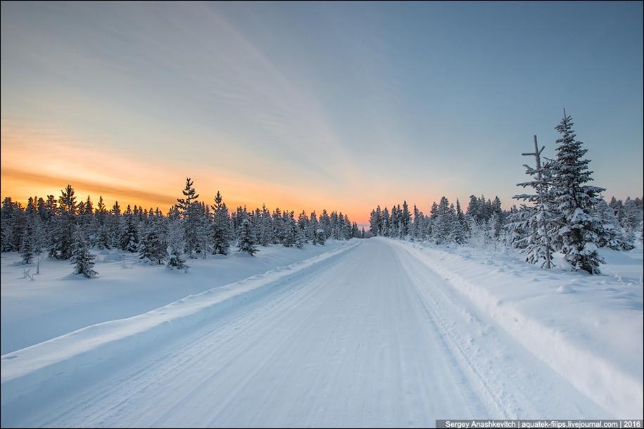 Winter roads in Finland 05
