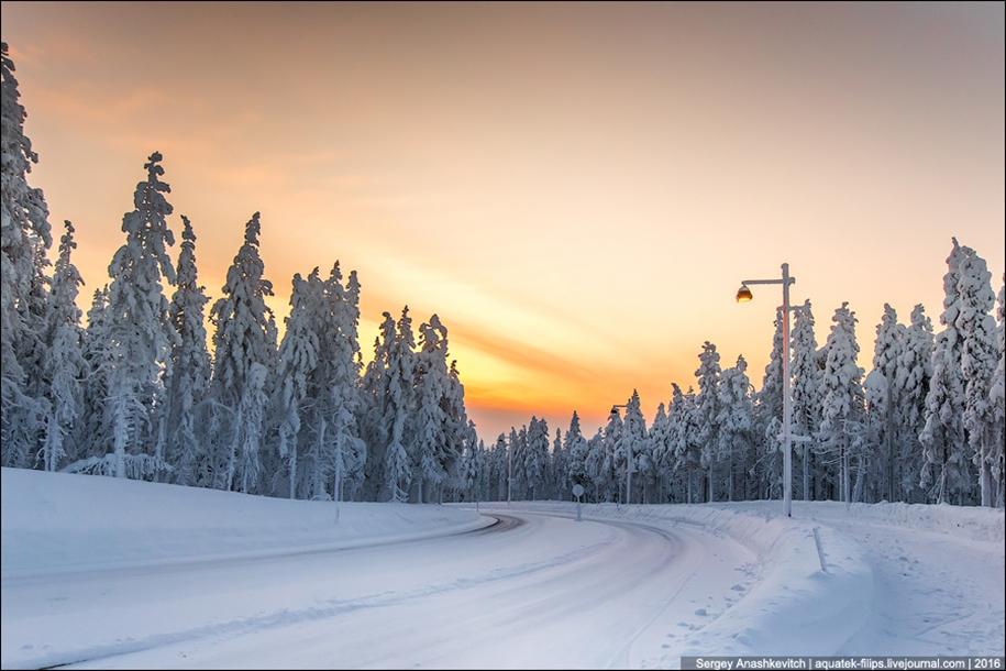 Winter roads in Finland 07